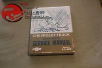 Chevy Pickup 1969 Truck Shop Chassis Service Manual