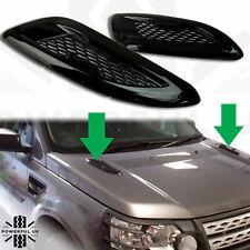 Black bonnet vents (Dummy) Land Rover Freelander 2 Dynamic grilles accessories