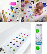 Baby Children Toddler Anti Non Slip Safety Bath Mat Dots Munchkin Uk Sale