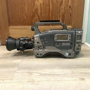 Jvc Mini Dv Gy-dv550 Camcorder With Fujinon Lens Professional Grade Camera