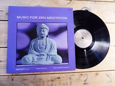 TONY SCOTT MUSIC FOR ZEN MEDITATION LP 33T VINYLE EX COVER EX