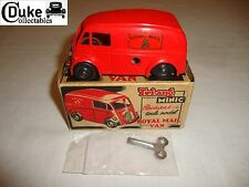 TRIANG MINIC 3168 CLOCKWORK MORRIS ROYAL MAIL VAN - EXCELLENT in original BOX