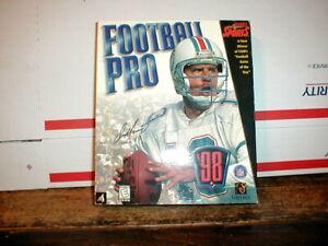 FRONT PAGE SPORTS FOOTBALL PRO PC 98 Windows Dan Marino Sierra NFL
