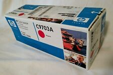 HP Color Laserjet (1500-2500) Print Cartridge C9703A Magenta Factory Sealed 2009
