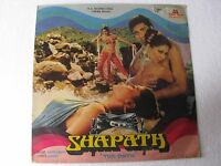 Shapath BAPPI LAHIRI Hindi Bollywood LP Record India-1562