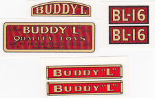BUDDY-L  B- L 16  ENGINE  DECAL  SET