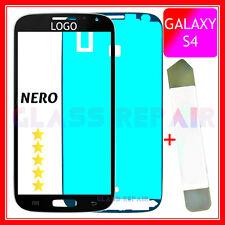 Vetro NERO Black GLASS+BiADESIVO+U. Apertura SAMSUNG GALAXY S4 I9500 I9505 I9515