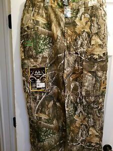 Realtree Men's Cargo Pants, 6 Pockets, M, L, XL, XXL, XXXL