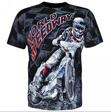 Aquila - WORLD SPEEDWAY - Mens T-Shirt / bikes, extreme sports,