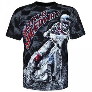 Aquila - WORLD SPEEDWAY - Mens T-Shirt / bikes, extreme sports