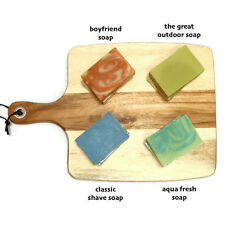Christmas Gift Natural Handmade Soap x4 choose any fragnance