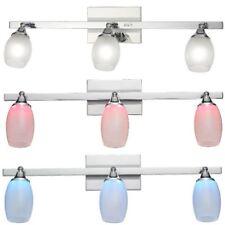 LED Deckenlampe  LED Deckenstrahler mit Fernbedienung Color 3 flammig Bad Küche