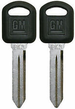 Pair 02-07 Saturn Vue GM OEM Quality Strattec Logo Key Blanks 692076 B96P 2
