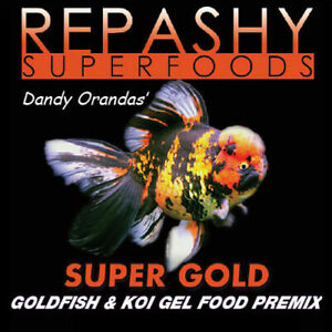 Repashy SuperFoods Super Gold Goldfish Koi Meal Feed Gel Fish Food 84g/340g/2kg