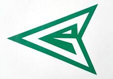Logotipo de Flecha Verde, Van, Laptop, Vinilo Calcomanía Adhesivo