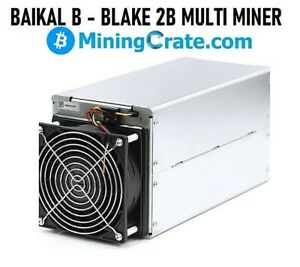 Baikal B - Multi Miner With PSU INCLUDED 🔥LBRY 45GH @ 360w🔥  Antminer BK-B
