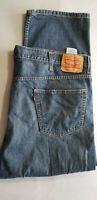 LEVI STRAUSS Men 550 Classic Relaxed Fit 100% Cotton Denim Jean - 46x29 Dar Blue
