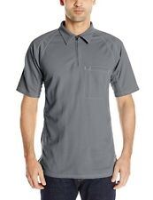 Bulwark Men's IQ Series Short Sleeve Polo Gray FR APTV 8.2 Size XL