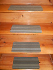 12 = Step  8'' x 18''  Indoor Outdoor Stair Treads Non-Slip  Step Rug Carpet   .