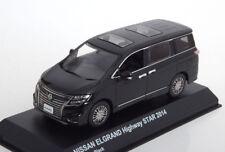 Nissan Elgrand Highway Star Année 2014 Noir 1 43 Kyosho