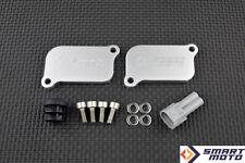 PAIR AIS SAS Valve Eliminator SMOG block off plates Ducati Panigale 1199 1299