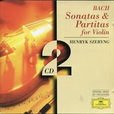Bach Sonatas & partitas for Violin -- Henryk Szeryng -- DG CD