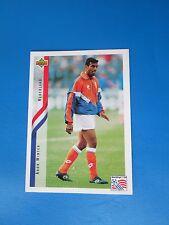 WINTER  NEDERLAND HOLLANDE PAYS-BAS Carte Card UPPER DECK USA 94 1994 panini