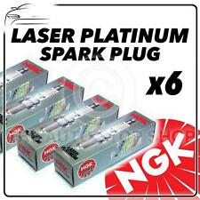 6x NGK SPARK PLUGS PART NUMBER bkr7equp STOCK NO. 4285 nuovo PLATINO sparkplugs