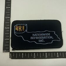 Nri Nationwide Refrigeration Inc. Advertising Patch (Ice Machines & More) 09R4