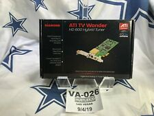 NEW Diamond ATI TV Wonder HD 600 Hybrid Tuner PCI Digital & Analog TV Tuner❄️VA