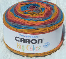Caron Big Cakes in Toffee Brickle #26006 - NEW & Smoke Free Home Worsted Weight