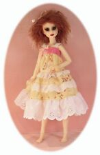 "BJD MSD dress patterns 4 many dolls: Kaye Wiggs, Planetdoll, Ellowyne, 14"" Kish"