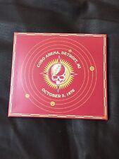 Grateful Dead 30 Trips Around the Sun 10/3/76 1976 Cobo Arena Detroit 3 CD's NEW