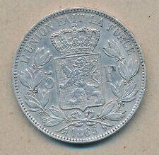 België/Belgique 5 fr Leopold I 1865 Morin 45 (15078)