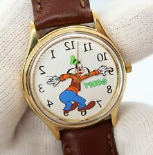 GOOFY Disney Classic Backwards Dial & Hands Mens/Kids RARE CHARACTER WATCH 270