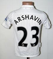 ARSENAL 2009/2010 THIRD FOOTBALL SHIRT JERSEY NIKE #23 ARSHAVIN SIZE L KIDS