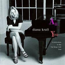 Diana Krall ALL FOR YOU Tribute To Nat King Cole Trio 180g VERVE New Vinyl 2 LP