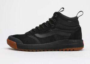 VANS UltraRange Hi DL MTE - Black Gum / All-Weather Boots Skate Shoes Sneakers
