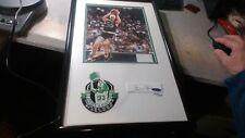 Larry Bird UDA Upper Deck Signed Auto Autograph 8x10 photo &  patch 195/500