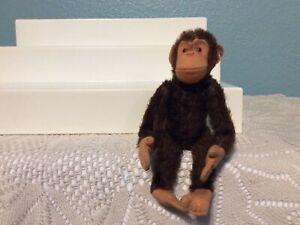 Vintage Steiff mohair jointed Jocko monkey