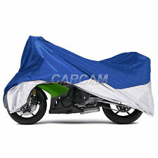 XXXL Blue Large Motorcycle Cover Fit Harley Road King Electra Street Tour Glide