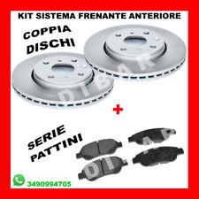 KIT DISCHI FRENO + PASTIGLIE CITROEN C1 1.0 DA 2005 KW50 CV68 CFB1KR  ANT. 8