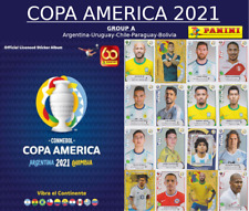 PANINI COPA AMERICA 2021 - GROUP A - Argentina-Uruguay-Chile-Paraguay-Bolivia