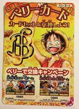 One Piece OnePy Berry Match PROMO Berry Card