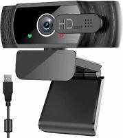neefeaer 1080P Webcam with Microphone and Privacy Cover, HD USB Web Camera,...