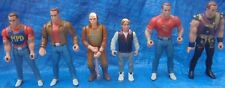 Last Action Hero Figure Lot Mattel 1993 Skull Attack Jack Slater Danny Ripper