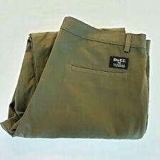 Stussy Mens Pants Stu E.C For Thread Size 40 High Rise Olive Green New