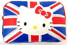 HELLO KITTY FLAG DESIGN CAMERA CELL PHONE BAG COIN BAG GREAT GIFT **US SELLER**