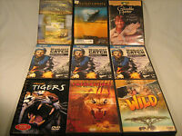Lot of 9 DVD WILDLIFE Whaledreamers, Crocodile Hunter, Deadliest Catch [Y51b]
