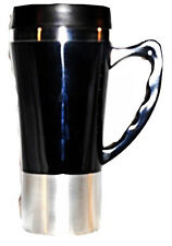 Stainless Steel Insulated Double Wall Travel  Mug /Cup 16 OZ EASY GRIP HANDLE